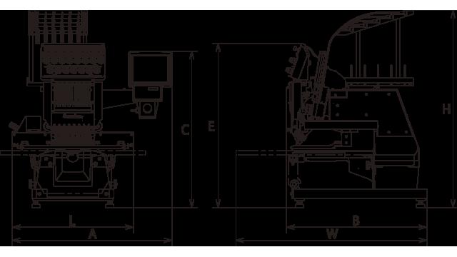 MODEL BEKT-S1501CAⅡ